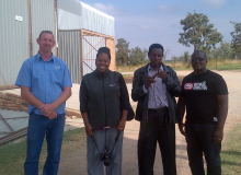 Visit to farm in Cullinan, South Africa during April 2015
